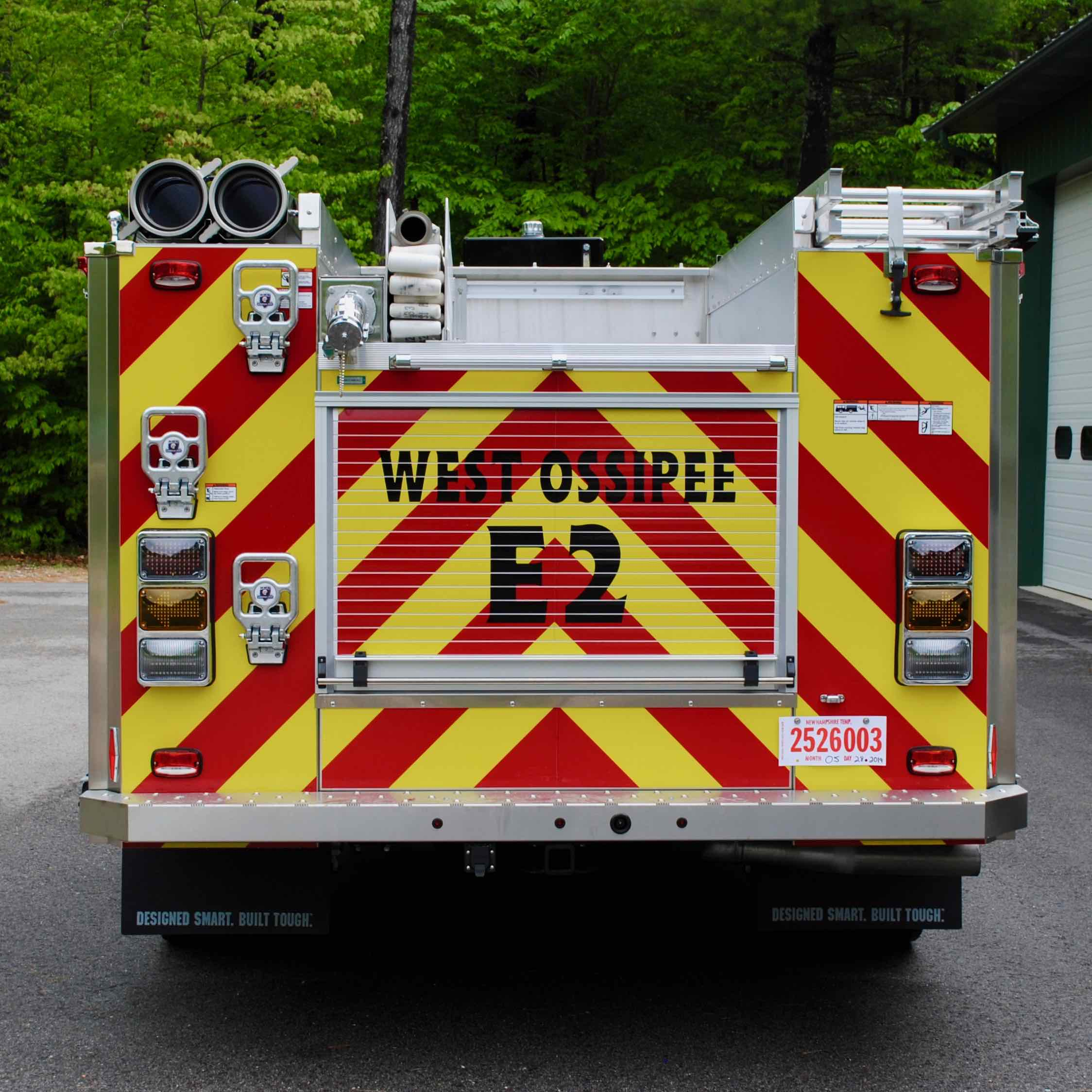 West Ossipee Fire Department, NH | HME Ahrens-Fox